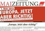 Ausschnitt Maizeitung DGB 2019