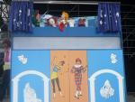 Das ALI-Puppentheater in Aktion