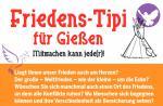 Friedens-Tipi für Gießen
